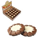 Печенье БИСКОТТИ (Россия) «Ноттэ», шоколадное с кремом, глазированное, сдобное, 2 кг, шоу-бокс
