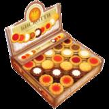 Печенье БИСКОТТИ (Россия) «Ассорти», 9 видов, глазированное, сдобное, 1,9 кг, картонный шоу-бокс