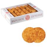 Печенье БИСКОТТИ (Россия) «Творожное», сдобное, 1,8 кг, весовое, гофрокороб
