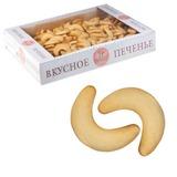 Печенье БИСКОТТИ (Россия) «Домашние рогалики», сдобное, 1,5 кг, весовое, гофрокороб