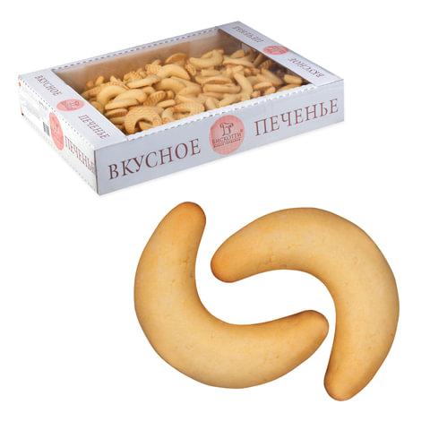 """Печенье БИСКОТТИ (Россия) """"Сырные рогалики"""", сдобное, 1,5 кг, весовое, гофрокороб"""