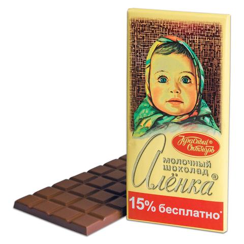 "Шоколад КРАСНЫЙ ОКТЯБРЬ ""Аленка"", молочный, 200 г"