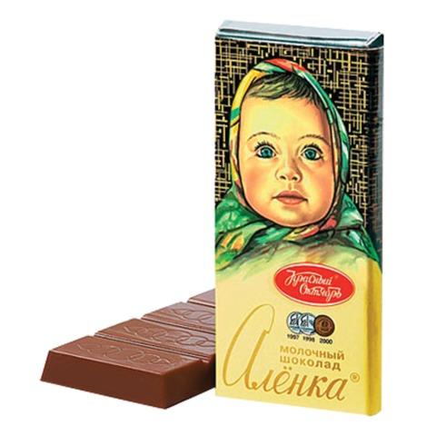 Шоколад КРАСНЫЙ ОКТЯБРЬ «Аленка», молочный, 60 г