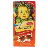 Шоколад КРАСНЫЙ ОКТЯБРЬ «Аленка», молочный с разноцветным драже, 100 г