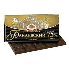 Шоколад БАБАЕВСКИЙ элитный, 75% какао, 100 г