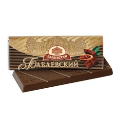 Шоколад БАБАЕВСКИЙ горький, 20 г