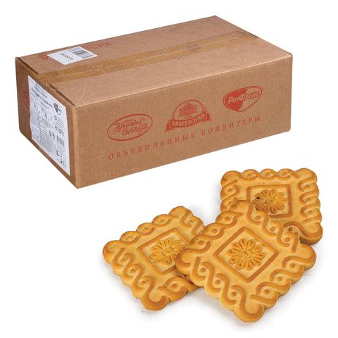 Печенье РОТ ФРОНТ «Любимое» со сливками, весовое, 4 кг, гофрокороб
