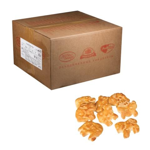 Печенье-крекер ЯСНАЯ ПОЛЯНА «Забавные животные», весовое, 6 кг, гофрокороб