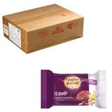 Зефир СЛАДКИЕ ИСТОРИИ ванильный в шоколадной глазури с орехами, весовой, 2,5 кг, гофрокороб