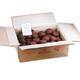 Зефир «Обожайка» ванильный в шоколадной глазури, весовой, 3,5 кг, гофорокороб
