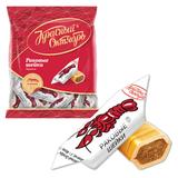 Конфеты-карамель РОТ ФРОНТ «Раковые шейки», шоколадно-ореховая, 250 г, пакет