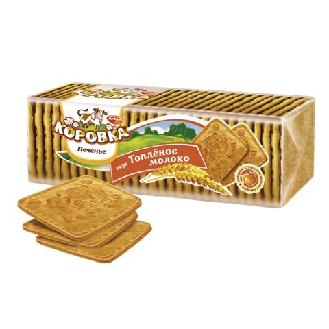 Печенье КОРОВКА топленое молоко, рассыпчатое, 375 г