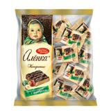 Конфеты шоколадные КРАСНЫЙ ОКТЯБРЬ «Аленка», вафельные с фундуком, 250 г, пакет