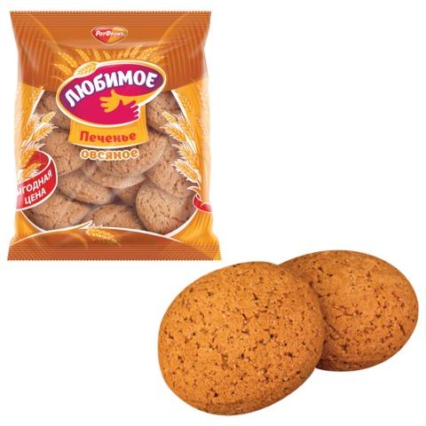 Печенье РОТ ФРОНТ «Любимое», овсяное, 400 г, пакет