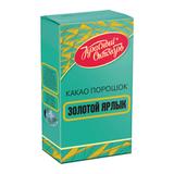 Какао КРАСНЫЙ ОКТЯБРЬ «Золотой ярлык», 100 г, картонная коробка