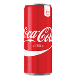 ������� ������������ COCA-COLA (����-����), 0,33 �