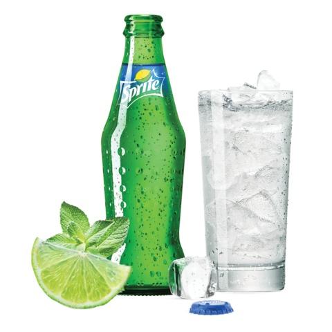 Напиток газированный SPRITE (Спрайт), 0,25 л, стеклянная бутылка