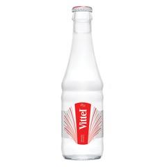 Вода негазированная минеральная VITTEL (Виттель), 0,25 л, стеклянная бутылка, Франция