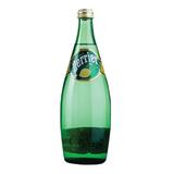 Вода газированная минеральная PERRIER (Перье) «Лимон», 0,75 л, стеклянная бутылка