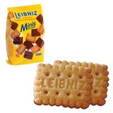 Печенье BAHLSEN Leibniz (БАЛЬЗЕН Лейбниц) «Minis Choko», сливочное с шоколадом, 100 г, Германия