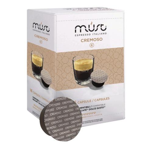 Капсулы для кофемашин DOLCE GUSTO «Cremoso», натуральный кофе, 16 шт. х 7 г, MUST