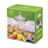 Чай AHMAD (Ахмад) «Citrus Sorbet», зеленый, вкус цитрусового сорбета, 20 пирамидок по 1,8 г