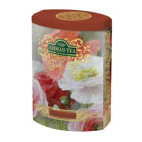 """Чай AHMAD (Ахмад) """"English Breakfast"""", черный, листовой, жестяная банка, 100 г"""