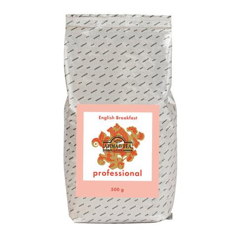 Чай AHMAD (Ахмад) «English Breakfast» Professional, черный, листовой, пакет, 500 г