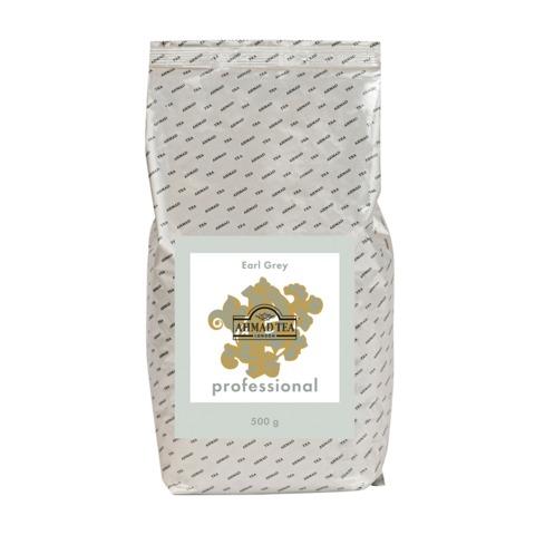 Чай AHMAD (Ахмад) «Earl Grey» Professional, черный с бергамотом, листовой, пакет, 500 г