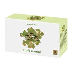 Чай AHMAD (Ахмад) «Green Tea» Professional, зеленый, 20 пакетиков для чайника по 5 г