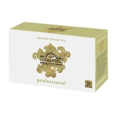 Чай AHMAD (Ахмад) «Jasmine Green Tea» Professional, зеленый с жасмином, 20 пакетиков для чайника по 5 г