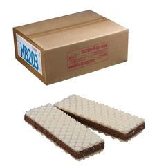 Вафли ЯШКИНО «Вафельный сэндвич», с прослойкой из шоколадной глазури, весовые, гофрокороб, 3,78 кг
