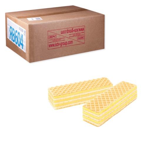Вафли ЯШКИНО «Лимон-Лайм», весовые, гофрокороб, 5 кг