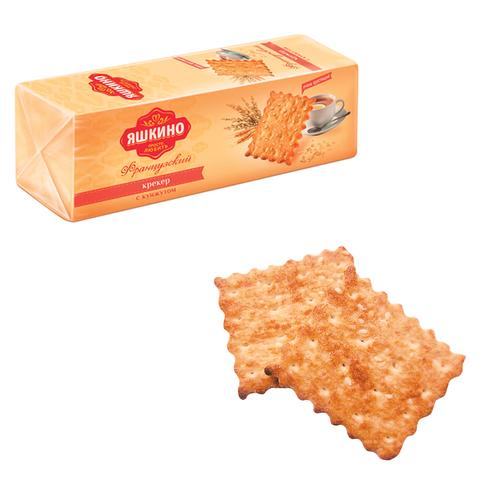 """Печенье-крекер ЯШКИНО """"Французский"""", с кокосовой стружкой и кунжутом, 185 г"""