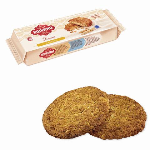 """Печенье ЯШКИНО """"Дженс"""", сдобное, со злаками и кокосовой стружкой, 180 г"""