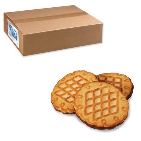 """Печенье ЯШКИНО """"Дивная Даренка глазированное"""", сахарное, весовое, гофрокороб, 3 кг"""