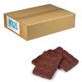 Печенье ЯШКИНО «Двойной шоколад», сахарное, шоколадное, глазированное, весовое, гофрокороб, 3,5 кг