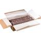 Печенье ЯШКИНО «Кругляш», сахарное, в белой и шоколадной глазури, весовое, гофрокороб, 3,5 кг