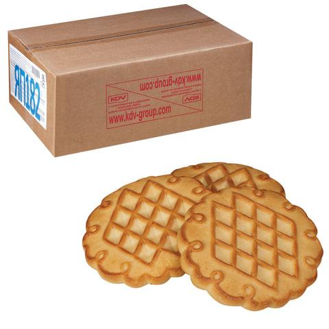 Печенье ЯШКИНО «Дивная Даренка топленое молоко», сахарное, весовое, гофрокороб, 4 кг
