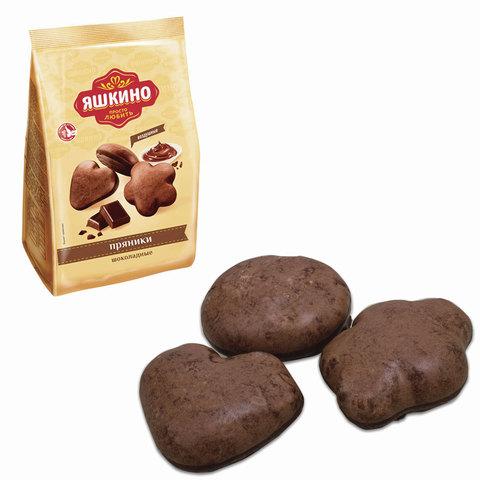 """Пряники ЯШКИНО """"Шоколадные"""", в сахарной и шоколадной глазури, 350 г"""