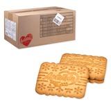 Печенье ЛЮБЯТОВО «Юбилей», сахарное, весовое, 6 кг, гофрокороб