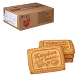 Печенье ЛЮБЯТОВО «Топленое молоко», сахарное, весовое, 4,7 кг, гофрокороб
