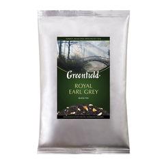 Чай GREENFIELD (Гринфилд) «Royal Earl Grey», черный с бергамотом, листовой, 250 г, пакет