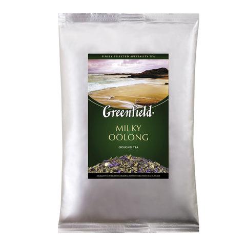"Чай GREENFIELD (Гринфилд) ""Milky Oolong"", улун, листовой, 250 г, пакет"
