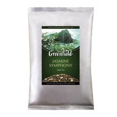 Чай GREENFIELD (Гринфилд) «Jasmine Symphony», зеленый с жасмином, листовой, 250 г, пакет