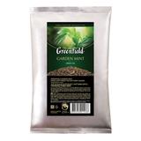 Чай GREENFIELD (Гринфилд) «Garden Mint», зеленый с мятой, листовой, 250 г, пакет