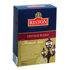Чай RISTON (Ристон) «Vintage Blend», черный листовой, картонная коробка, 200 г