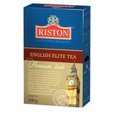Чай RISTON (Ристон) «English Elite Tea», черный и зеленый листовой с бергамотом, купаж, 200 г
