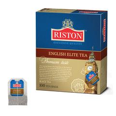 Чай RISTON (Ристон) «English Elite Tea», черный с бергамотом, 100 пакетиков по 2 г