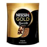 Кофе молотый в растворимом NESCAFE (Нескафе) «Gold Barista», сублимированный, 150 г, мягкая упаковка